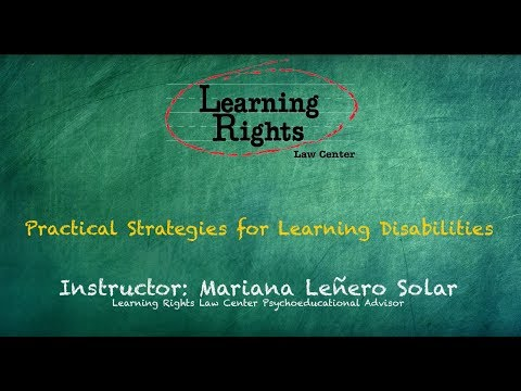 Practical Strategies for Learning Disabilities