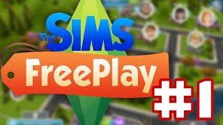 The Sims Freeplay - Gameplay Walkthrough Part 1 - House Warming