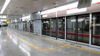 大邱都市鉄道1号線1000系 東大邱駅発車