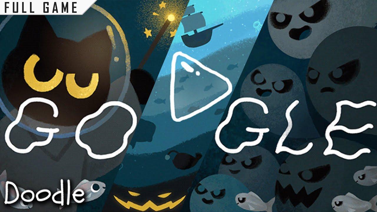 14+ Google Doodle Halloween