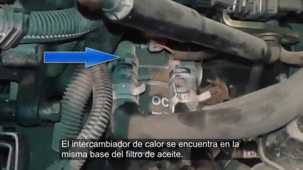 Cambiar intercambiador de calor aceite y agua peugeot 206 for Interieur 306