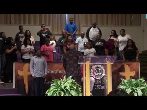 Bishop Kevin Willis Sings Al Green To Pastor Linda!