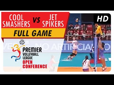 Cool Smashers vs. Jet Spikers | WV Full Game | 4th Set | PVL Open Conference | July 9, 2017