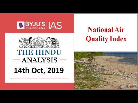 'The Hindu' Analysis for 14th October, 2019 (Current Affairs for UPSC/IAS)