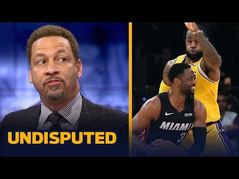 Chris Broussard on LeBron & D-Wade's emotional final regular season meeting | NBA | UNDISPUTED