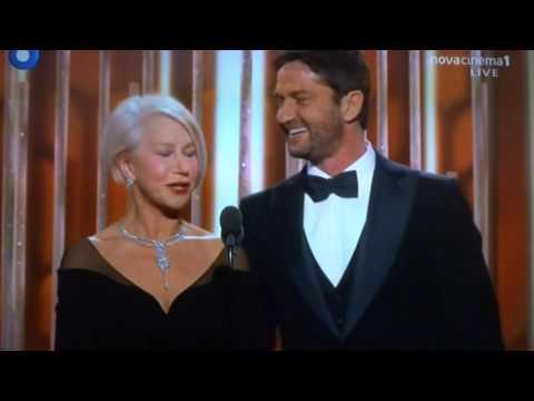 Gerard Butler in Golden Globe Awards (10.1.2016)