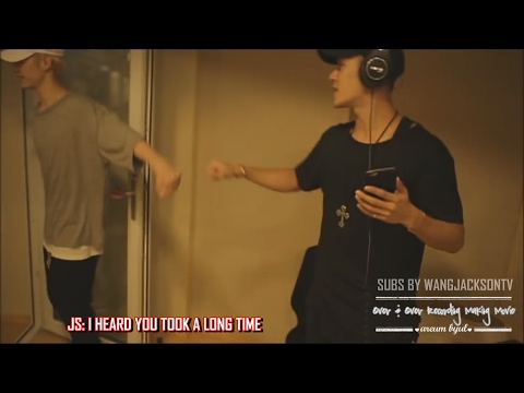 [ENG SUB] Hey Yah 'Over and Over' making - Jackson cut