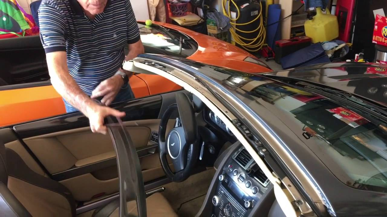 Db9 Roof Fix Youtube 2005 Aston Martin Fuse Box Location Kohoutek