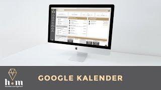Einstellungen - Google Kalender