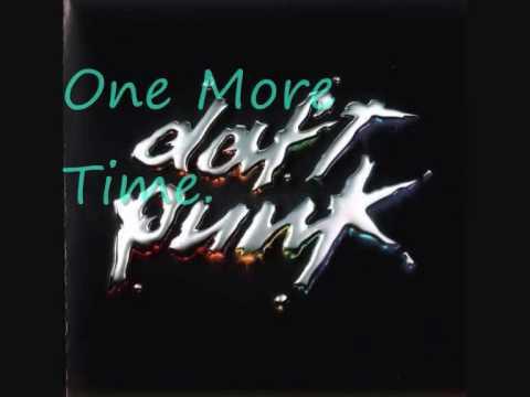 Daft Punk - One More Time. (Lyrics)