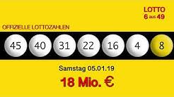 Lottozahlen 05.01.19 Lotto6aus49