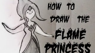 Ep. 30  How to draw Flame Princess