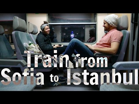 Train from Sofia to Istanbul