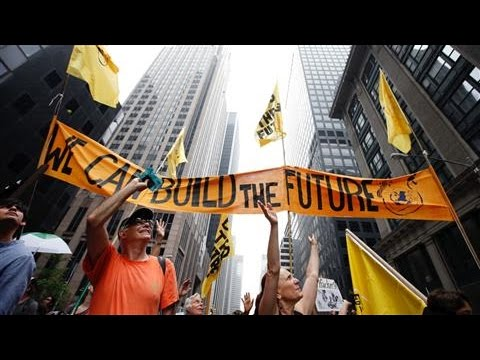 Thousands Hit New York City Streets in Climate Change March