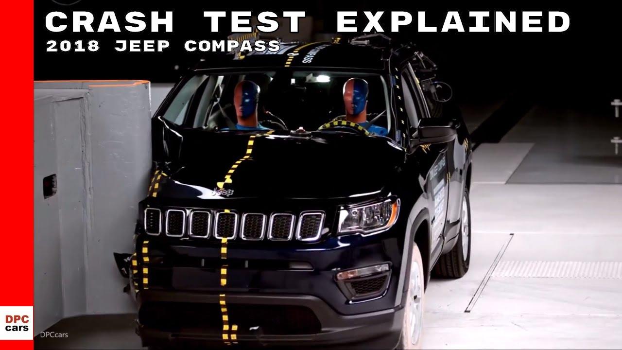 2018 Jeep Compass Crash Test Explained Youtube