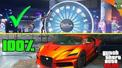 GTA 5 UNENDLICH OFT AM GLÜCKSRAD DREHEN   Glücksrad Glitch   Casino DLC   Zeddi