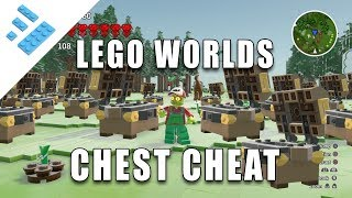 How to quickly get chests in LEGO Worlds