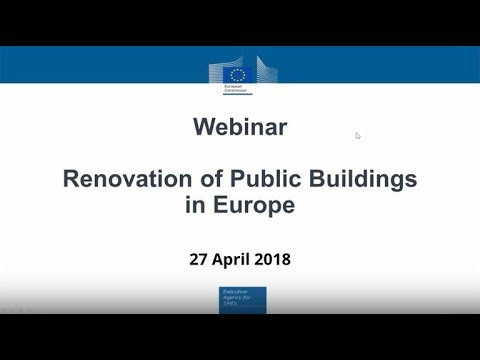 SEI Forum – Webinar n°5: Renovation of Public Buildings in Europe