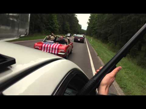 American Police Chase in Lithuania