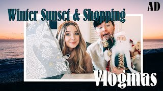 Winter Sunset & Christmas Shopping with Mark | VLOGMAS | AD
