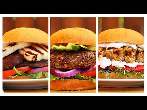 3 Incredible Veggie Burger Recipes!