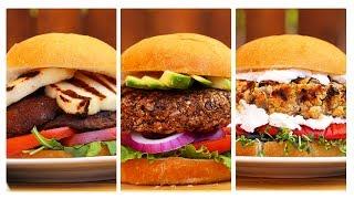 3 Incredible Veggie Burger Recipes!