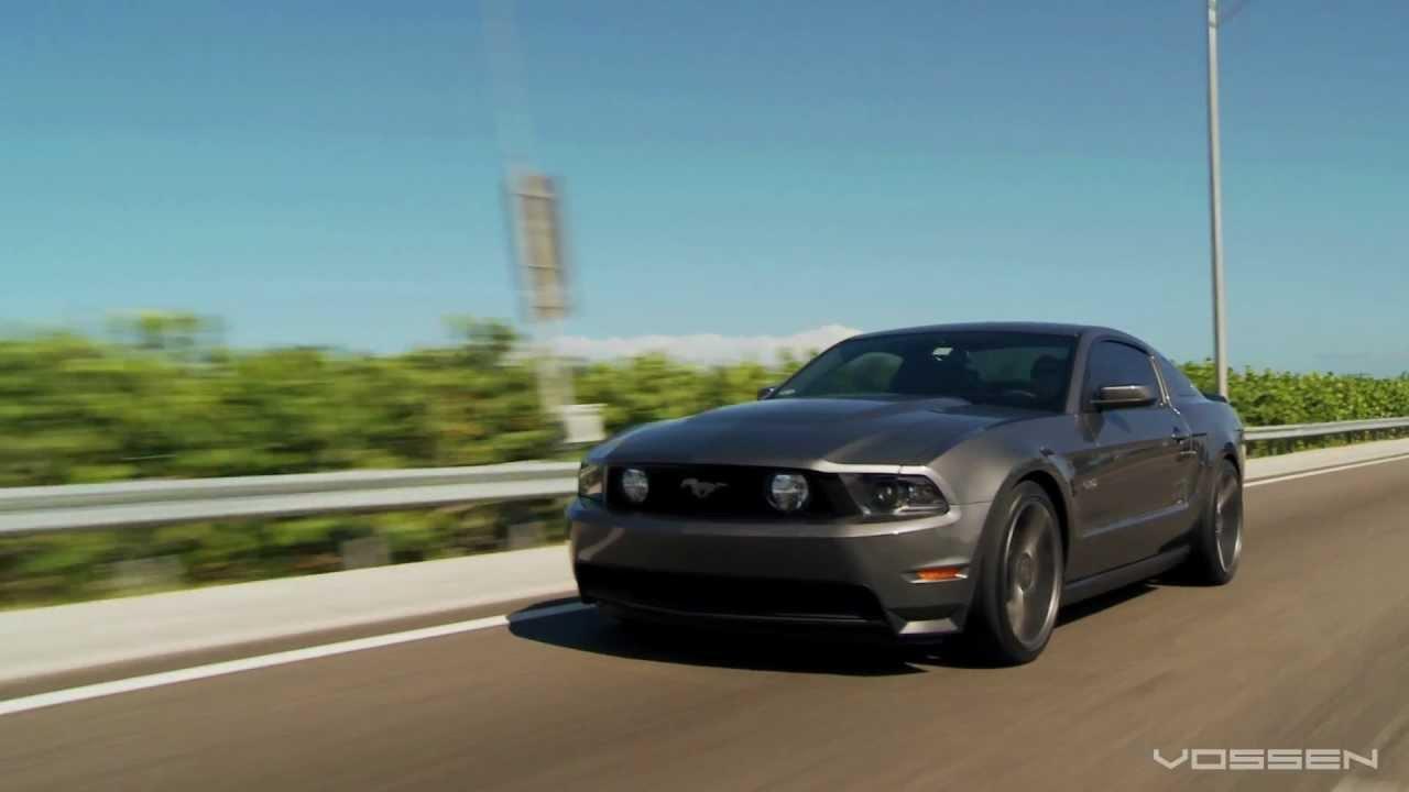 Ford Mustang On 20 Quot Vossen Vvs Cv3 Concave Wheels Rims