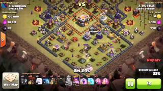 Th10 3 Star attack on Th11 Queen walk