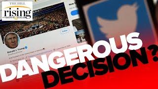 Krystal and Saagar: Twitter's DANGEROUS decision to CENSOR Trump tweet