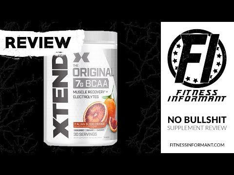 XTEND BCAA REVIEW: Still The King of the Mountain
