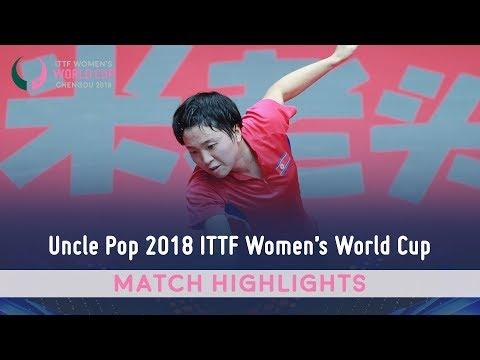 Matilda Ekholm vs Kim Song I I 2018 ITTF Women's World Cup Highlights (Group)