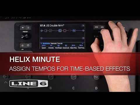 Helix Minute: Assign Tempos for Time-Based Effects | Line 6
