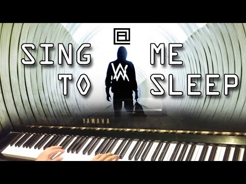 SING ME TO SLEEP (Alan Walker) - LACrrangement Piano Cover