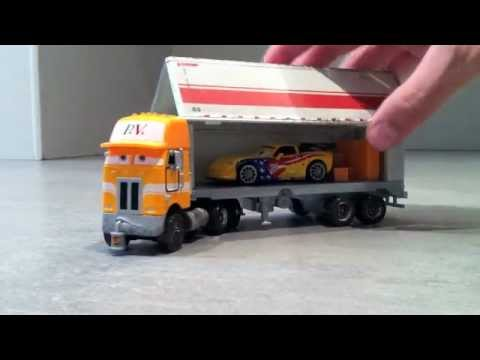 cars 2 camion valdez juguete miniatura mattel youtube. Black Bedroom Furniture Sets. Home Design Ideas