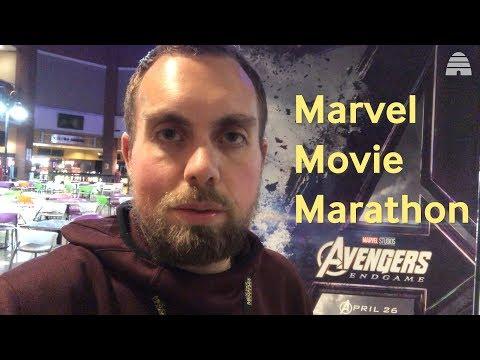 Marvel Movie Marathon | One Man, 22 Movies, 59 Hours