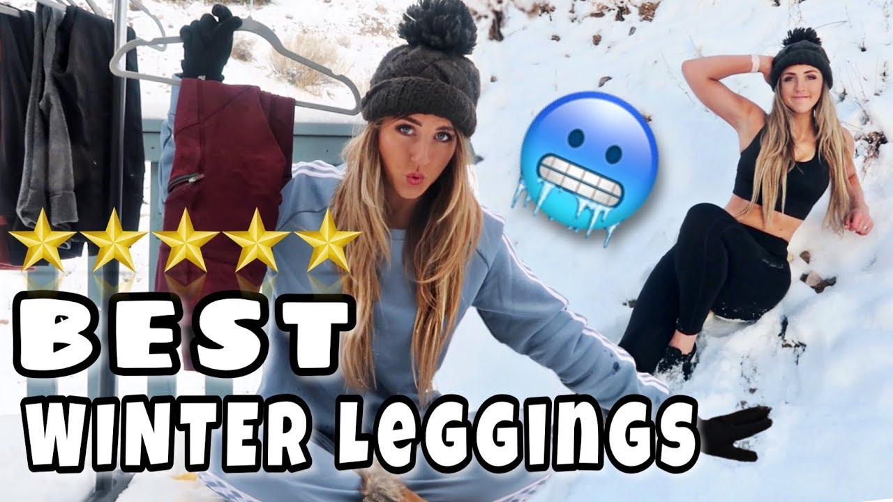 00f69565cdeb MUST HAVE Leggings for Cold Weather - YouTube