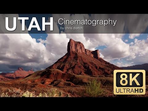 Sample 4k UHD (Ultra HD) video download of Utah