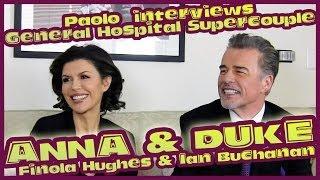 """General Hospital"" Supercouple Anna and Duke (Finola Hughes and Ian Buchanan)!"