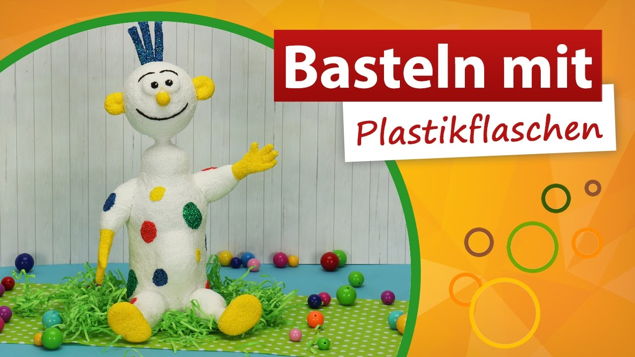basteln mit plastikflaschen clown basteln trendmarkt24 bastelideen diy youtube. Black Bedroom Furniture Sets. Home Design Ideas