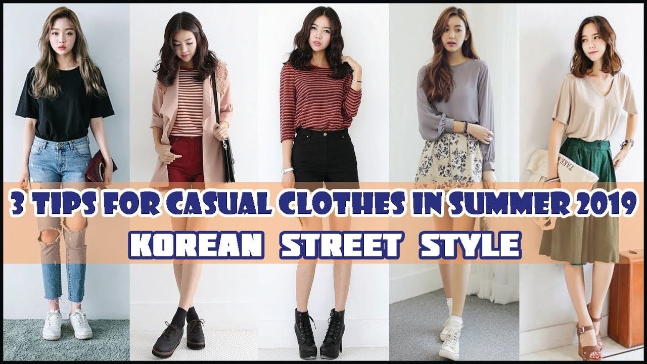 8 Tips for Casual Clothes in Summer 8 - Korean Street Style