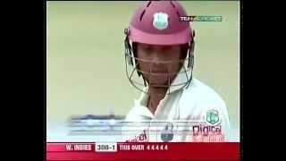 Ramnaresh Sarwan 6 Fours off Munaf Patel's Over   ST Lucia 2006
