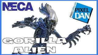 Aliens Gorilla Alien NECA Toys Kenner Wave Figure Video Review