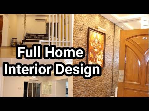 Wooden Modular Kitchen| Complete New Home Interior Design | Tamil