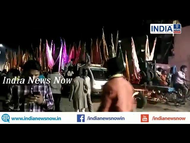 LIVE:भागलपुर: प्राचीन खाटू श्याम मंदिर चिन्हारी टोला से   निकाली गई श्याम बाबा की भव्य निशान यात्रा