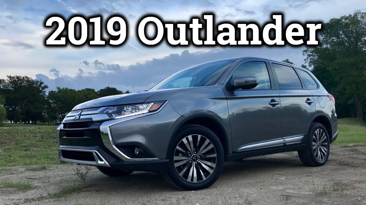 Review 2019 Mitsubishi Outlander 3 Rows 29 MPG AWD For Less Than