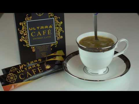 Enjoy a cup of Ultrra Cafe in Gourmet Latte
