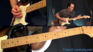 Johnny B. Goode Guitar Lesson - Chuck Berry - Famous Riffs