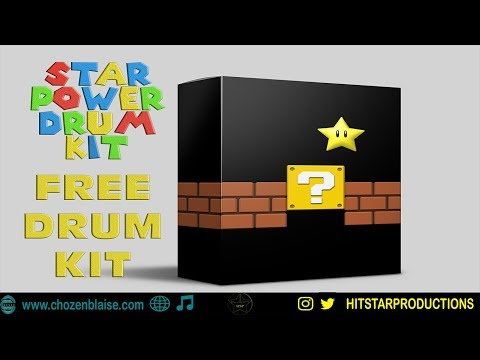 THE FIRST FREE DRUM KIT OF 2018 | STAR POWER DRUM KIT PREVIEW | HITSTAR