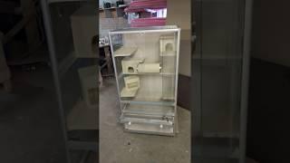 Клетка витрина для шиншилл, дегу, хорьков, крыс
