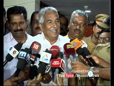 Oommen Chandy's Response after appears Solar Judicial Commission's hearing